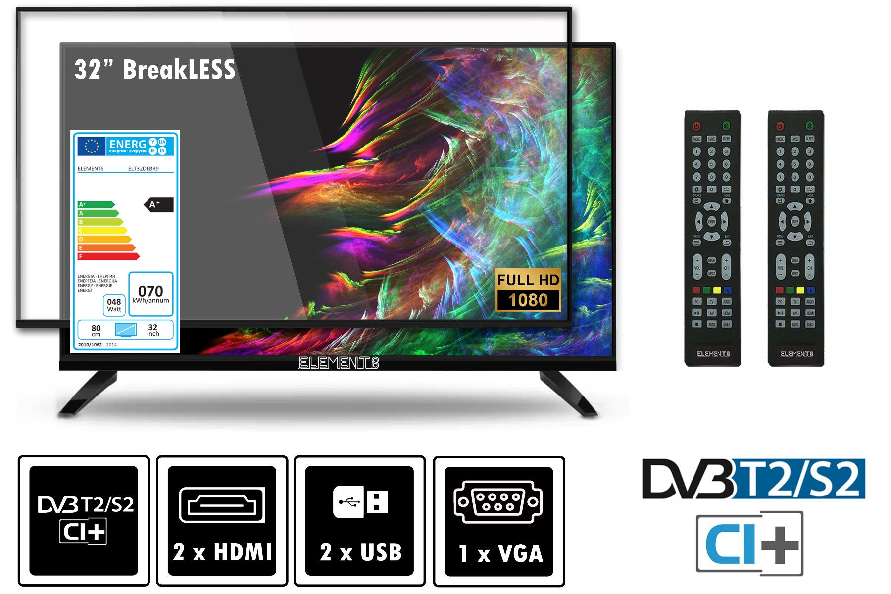 Fernseher 25 Zoll