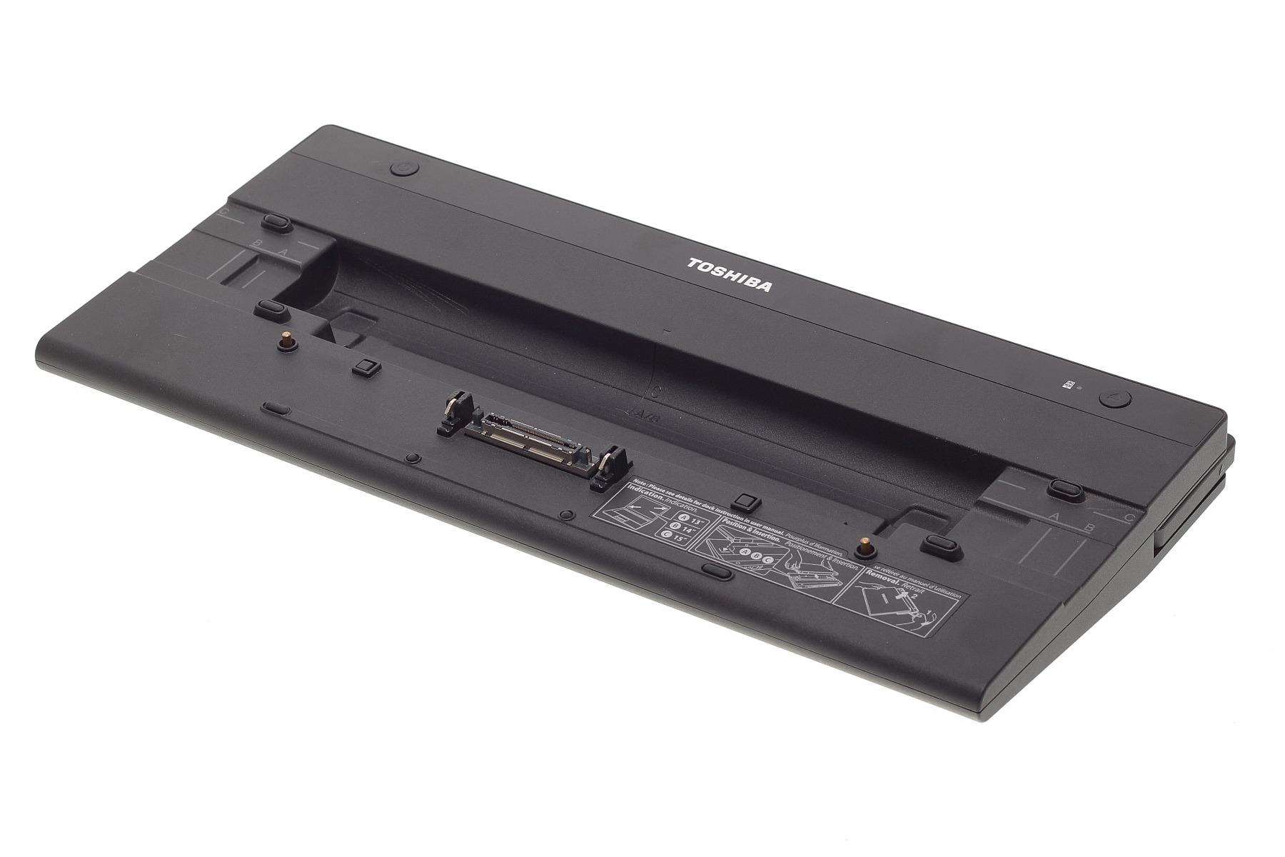 Toshiba Docking Station Hi-Speed Anschluss Replikator II PA3916E-1PRP HDMI USB VGA