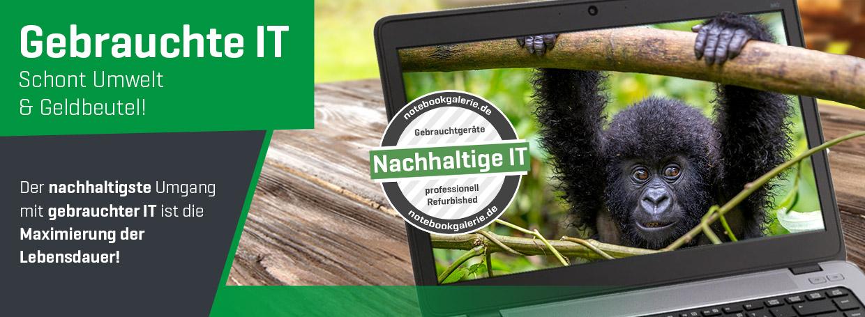 Gebrauchte IT - Schont Umwelt und Geldbeutel!
