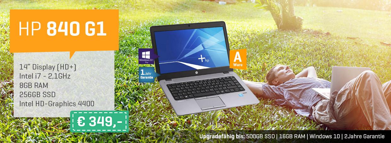 HP 840 G1 für nur 349€!
