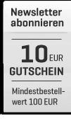 Ein Gutschein von Wert 10 Euro für ein Abonnieren eines Newsletters
