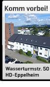 Unser Outlet-Store in HD-Eppelheim, Wasserturmstr. 50
