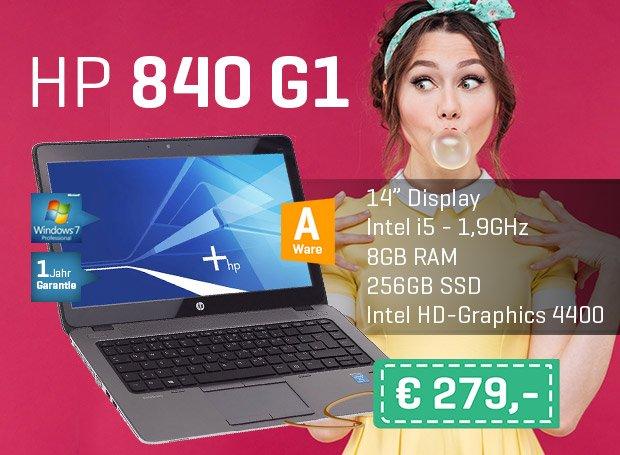 Das HP 840 G1 für nur 299€