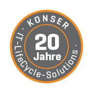 Unternehmen Konser schon 15 Jahre lang als IT Life Cycle Solution
