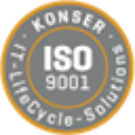 Unternehmen Konser entspricht ISO 9001