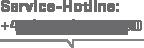 Service Hotline mit Tel. Nummer +49 (6221) 67216 80