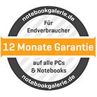 1 Jahr Garantie auf Alle PCs und Notebooks für Endverbraucher